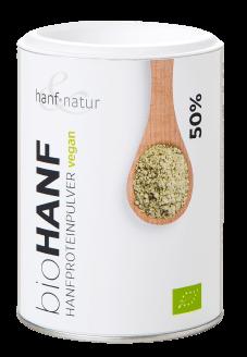 białko proteinowe z konopi hanf&natur