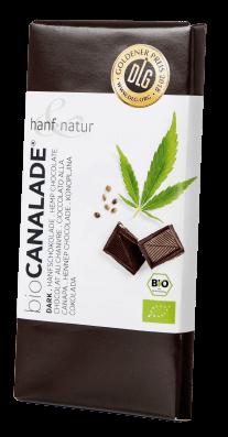 gorzka czekolada hanf&natur