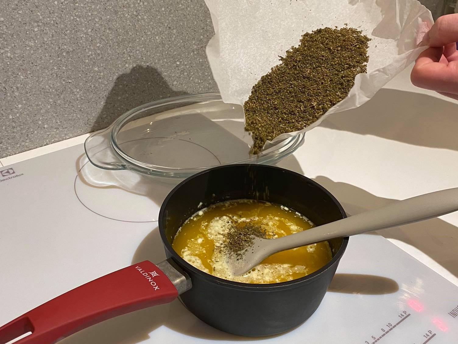 masło konopne
